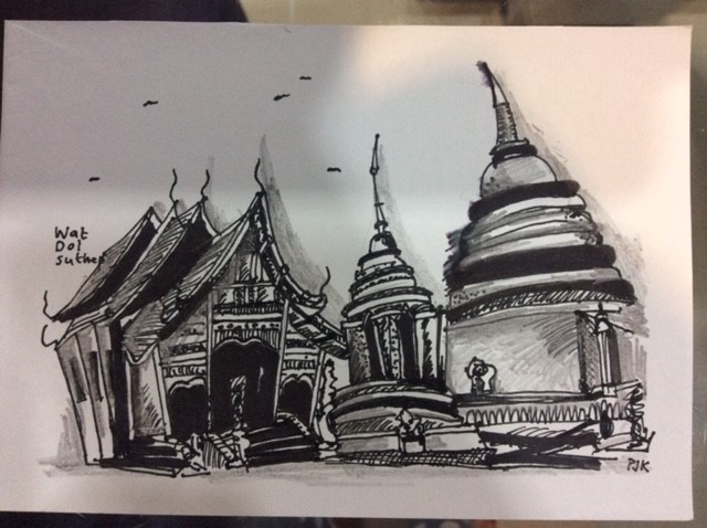 Drawing from Bangkok